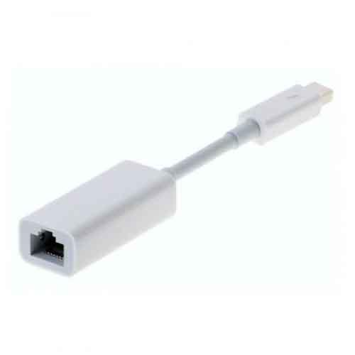 Apple Thunderbold To Gigabit Ethernet Adapter MD463ZMA price in hyderabad