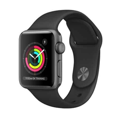 Apple Watch Series 3 GPS 38mm MTF02HNA price in hyderabad